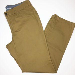 Eddie Bauer brown legend wash khakis Size 14